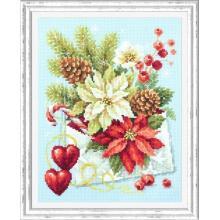 Гоблен Чудесная игла 100-241 Честита Коледа!