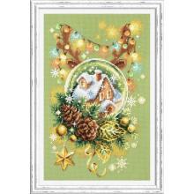 Гоблен Чудесная игла 100-245 Светло Рождество
