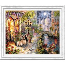 Гоблен Чудесная игла 110-081 Нощно рандеву във Венеция
