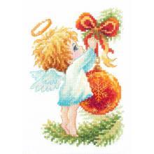 Гоблен Чудесная игла 160-001 Ангелче на елхата