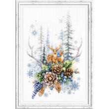 Гоблен Чудесная игла 200-017 Духът на зимната гора