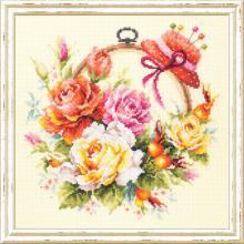 Гоблен Чудесная игла 100-122 Рози за мен