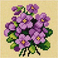 Щампа с конци Орхидея 6752