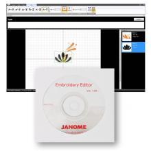 Софтуер за редактиране на готови мотиви Embroidery Editor