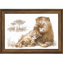 Гоблен Риолис 100/013 Лъвски рай