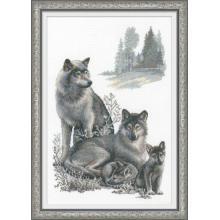Гоблен Риолис 100/021 Семейство вълци