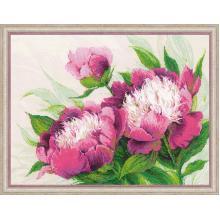 Гоблен Риолис 100/039 Розови божури