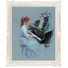 Гоблен Риолис 100/056 Пианистка