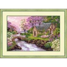 Гоблен Риолис 1098 Пролетен пейзаж