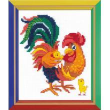 Гоблен Риолис НВ-151 Петел с пиленца