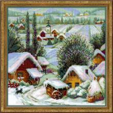 Гоблен Риолис 1670 Село на Балканите