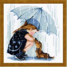 Гоблен Риолис 1720 Под чадъра