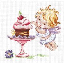 Гоблен Чудесная игла 35-22 Обичам сладко
