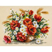 Гоблен Чудесная игла 40-67 Букет диви цветя