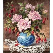 Гоблен Чудесная игла 40-75 Рози и фуксия