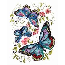 Гоблен Чудесная игла 42-03 Сини пеперуди
