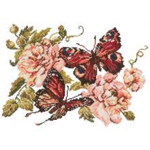 Гоблен Чудесная игла 42-06 Теменужки и пеперуди