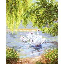Гоблен Чудесная игла 44-02 Лебеди