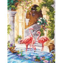 Гоблен Чудесная игла 64-02 Фламинго