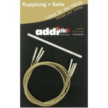 Комплект Addi- click корда - 60, 80, 100 см + 1 куплунг 658-2