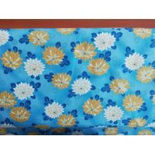 Плат Дания - Цветя на син фон, 55 х 45 см