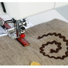 Краче за кожа и промазани тъкани за машини с люлеещ грайфер и 5 мм ширина на зигзага - 200142001