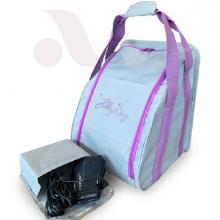 Чанта за оверлог, сиво лилава GL O