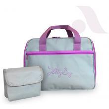 Чанта за шевна машина, сиво лилава GL SM