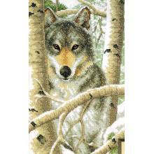 Гоблен Dimensions 3228 - Зимен вълк