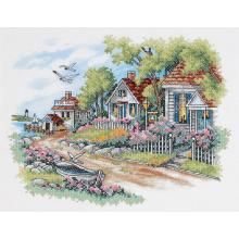 Гоблен Dimensions 3240 - Къщи край морето