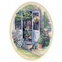 Гоблен Dimensions 35124 - Вратата към градината