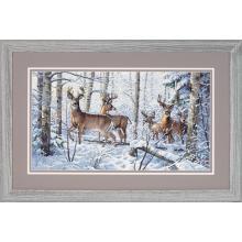Гоблен Dimensions 35130 - Зима в гората