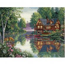 Гоблен Dimensions 35183 - Дом над водата