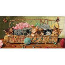 Гоблен Dimensions 35184 - Новородени котета