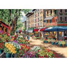 Гоблен Dimensions 35256 - Пазар в Париж