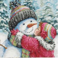 Гоблен Dimensions 70-08833 - Целувка за снежния човек
