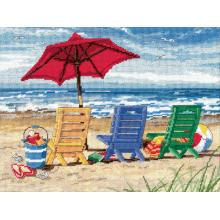 Гоблен Dimensions 72-120022 - Шезлонги на плажа