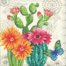 Гоблен Dimensions 70-35388 Цъфнали кактуси