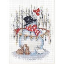 Гоблен Dimensions 70-08984 - Снежко със зайци