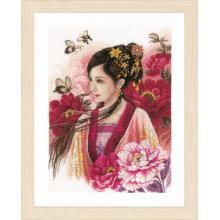Гоблен Ланарте PN-0170199 - Азиатка в розово