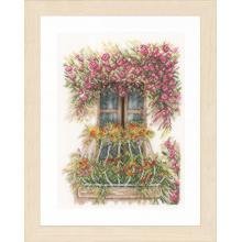 Гоблен Ланарте PN-0171411 - Цветен балкон
