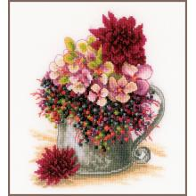Гоблен Ланарте PN-0185110 Градински букет от розови цветя