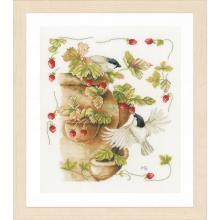 Гоблен Ланарте PN-0168599 Ягоди и птички