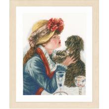 Гоблен Ланарте PN-0168607 Момиче с куче