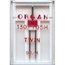Двойна игла Organ - 4,0/90