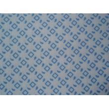 Плат Poplin Karina 1476782-109 Сини квадрати на бял фон 50 х 50 см