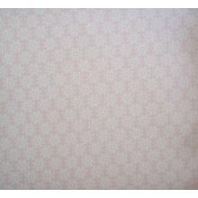 Плат Poplin светло розов на ситни бели цветенца - 50 х 50 см
