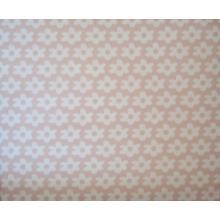Плат Poplin светло розов на цветенца - 50 х 50 см