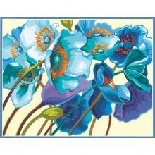 Картина - Сини макове, Dimensions PN-0187045, 28 х 36 см