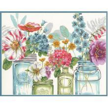 Картина - Цветни букети, Dimensions PN-0187051, 28 х 36 см